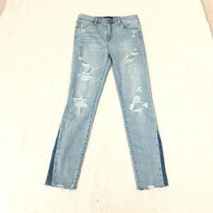 Abercrombie $ Fitch Simone high rise super skinny